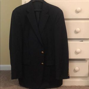 Men's navy Ralph Lauren blazer